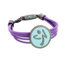 ZUMBA Fitness Wrapped Me Up, Scotty logo bracelet - purple blue - rubber cord