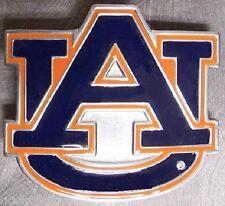 NCAA Pewter Belt Buckle Auburn University NEW