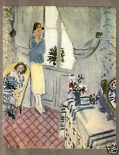 HENRI MATISSE 1935 LITHO PRINT w/COA. exclusive gift present of UNIQUE RARE ART