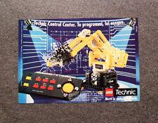 I239-Advertising Pubblicità-1990- LEGO TECHNIC , CONTROL CENTER