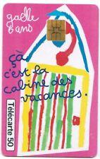 TELECARTE 50 COLLECTION DESSINS D ENFANTS