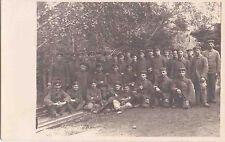 ✚725✚ German Field Postcard Feldpost WW1 SOLDIERS UNIFORM BAYONET RIFLE CAP