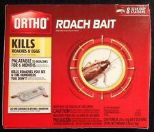 Ortho - Roach Bait | Kills Roaches & Eggs Up To 6 Months | 8 Clean-Snap Stations