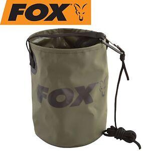 Fox Collapsible Water Bucket Falteimer zum Karpfenangeln, Wasserbehälter