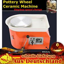 250W Töpferscheibe Töpferei Elektrische Maschine Fußpedal Keramik Werkzeug DIY