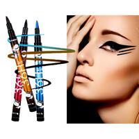 36H Eyeliner Waterproof Liquid Eye Liner Felt Tip Pen BLACK BLUE PURPLE BROWN