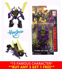 Hasbro Transformers Titans Return Legends Kickback Action Figures Robot Kids Toy
