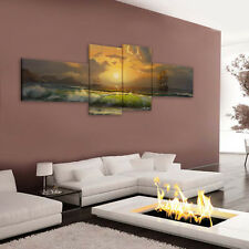 Unframed HD Canvas Print Wall Art Paintings Picture Poster Sailboat On Sea