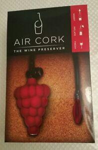 Air Cork Wine Preserver as seen on Shark Tank