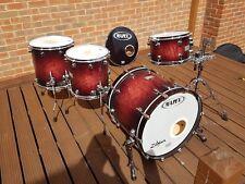 "Mapex Orion Maple Drum Kit Wine Burl 12"" 14"" 16"" 22"""