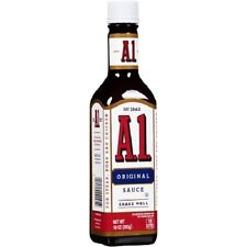 A1 Steak Sauce 10oz 283g Large Glass bottle A 1 Steak Sauce