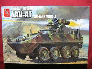 LAV-AT Anti Tank Vehicle General Motors 1/35 AMT Ertl Model Kit Military GM 1989