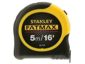 Stanley STA033719 FatMax Tape Blade Armor Measuring Tape 5m 16ft 33-719