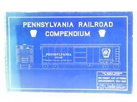 Pennsylvania Railroad Compendium Vol 1 Frt Car Ltrg by Kusner & Seman ©1989 Book