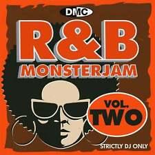 DMC R&B Monsterjam Vol 2 Grandmaster Style Continuous Megamix Mixed DJ CD R'n'B