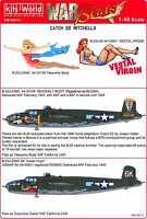 "Kits World Decals 1/48 NORTH AMERICAN B-25H/J MITCHELL Movie ""Catch 22"""
