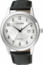 Citizen Analog Casual Watch Eco-drive Black Mens Aw1231-07a