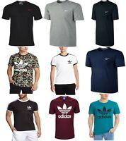 Mens Originals Adidas T Shirts Top California Trefoil Essentials NIKE SWOOSH