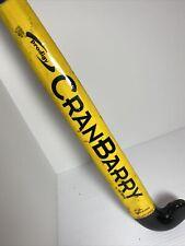 "CranBarry Prodigy Field Hockey Stick 35.5"" By Grays  Yellow Black Nice Grip"