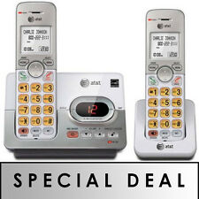 AT&T DECT 6.0 2 Handset Cordless Phone w/ Digital Answering System & Caller ID
