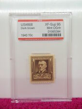 # 868 1940 James Whitcomb Riley PSE Encapsulated & Graded XF- Sup 95 MINT OGNH
