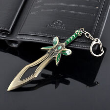 "Dota  Keychain 4.7"" Alloy The Butterfly Sword Keyring Keychain in box"
