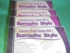 Country Love Songs~#1, 2, 3 & 4 ~ Daywind~Karaoke Style ~I Loved Her First~ CD+G