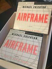 Airframe CD Audiobook Michael Crichton Abridged