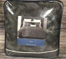 Vera Wang Simply Vera Charcoal Infinity King Comforter Set