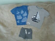 Baby Boys 18-24 Months - Two T-Shirts & a pair of Shorts - Next