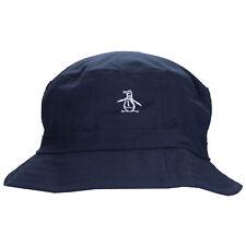 Original Penguin Mens Reversible Bucket Hat in Blue - One Size