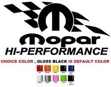 """(539) 12"""" Mopar performance charger challenger journey dart sticker emblem decal"""