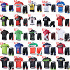 2017 New ciclismo Bike racing clothing outdoor cycling jersey&shorts Set/Kit