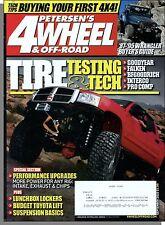 Petersen's 4 Wheel & Off-Road - 2010, September - Tire Testing & Tech