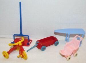 Vintage Hard Plastic Dollhouse Furniture: Ideal, Renwal, Thomas