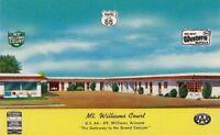 Postcard Mt Williams Court Williams Arizona AZ