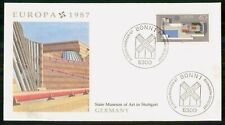 Mayfairstamps Germany Fdc 1987 Cover Europa Cept Museum wwk31061