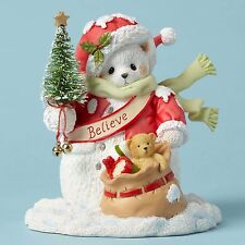 Cherished Teddies You/'re My Reason to Believe Santa Ornament Dated 2017