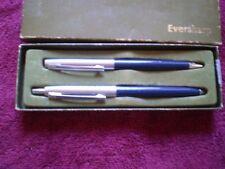 #3105  VINT MECH  PENCIL   EVERSHARP  PEN & PENCIL SET IN CB BOX   ERASER