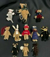 Boyds Bears T.F. Wuzzies (11 pcs) with tags multiple pcs. *FREE SHIPPING*