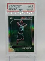 2019 Panini Hoops Grant William Neon Green /99 Rookie Card PSA 10 Boston Celtics