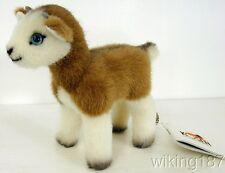 KOSEN Made in Germany NEW Brown & White Baby Goat Plush Toy