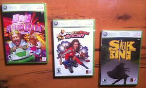 Xbox 360 Burger King Lot: Big Bumpin', PocketBike, Sneak King ~ NEW ~ Free Ship