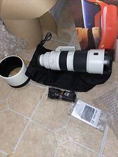BRAND NEW Sony FE SEL200600G 200-600mm F/5.6-6.3 G OSS Lens - White/Black