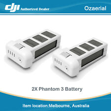 Free Shipping DJI Phantom 3 Part 12 Intelligent Flight Battery 4480mAh (2 PCS)