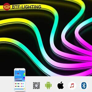 Music Dreamcolor LED Neon Light Kits Silica Gel Lights WS2811 LED Strip RGB 5050