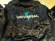 Universal Studios Leather Jacket NWT New with Tags | Men's XL | Black