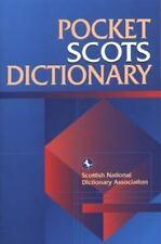 Pocket Scots Dictionary, Scottish Language Dictionaries, Very Good Book