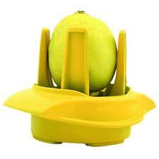 Fackelmann cortador porciones Limón cocina amarillo (1ud)