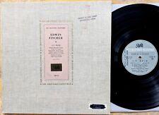 CLASSICAL PIANO LP: EDWIN FISCHER J.S. Bach PATHÉ COLH 45 (France, 1957) Recital
